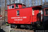 M&E (Bobber) Caboose No. 1.