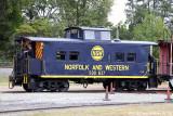 Norfolk and Western #500837 (ex-P&WV #837)