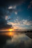 Bahia Salinas sunset