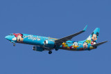 8/5/2013  Alaska Airlines Boeing 737-990  Spirit of Disneyland II N318AS