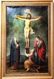 Painting of the Crucifixtion from Mission San Carlos Borromeo del Rio Carmelo Roman Catholic Church r1 _MG_8262.jpg
