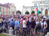 32nd day of protest in Sofia (15th of July 2013)