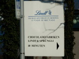 Lindt. The chocolate factory.
