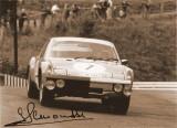 84-Hour Race, 1970 Marathon de la Route 914-6 GT Gerard Larrousse Signed Photo 2