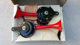 BOSCH Sport-Fanfaren Dual Tone 6v Electric Horns, NOS
