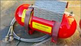 Heinzmann Fire Bottle System - Perfect Reproduction