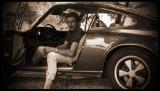 Jo Siffert in his Porsche 911