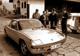 (circa 1969) Dr. Ferry Porsche 60th Birthday Present, a 914 fitted with a 908 race engine