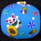 Wakana Ogura, Lucky Cat 1 Size: 0.78 x 0.80 Price: SOLD