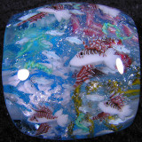 Lionfish Size: 0.99 x 1.07 Price: SOLD