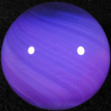 Lavender Gumball Size: 1.28 Price: SOLD