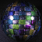 Ultimate Discoball Size: 2.72 Price: SOLD