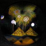 #1: Magic Over the Pyramids  Size: 1.80  Price: $600