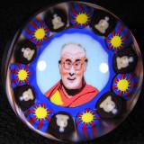 Dalai Lama Size: 1.82 Price: SOLD