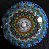 Mandala of Denderah Size 2.42 x 1.46 Price: SOLD