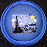 The Starry Night Size: 1.32 Price: SOLD