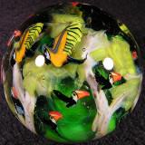 Rainforest in Flight Size: 1.96 Price: SOLD