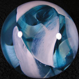 Glass Eye Studio with Ro Purser: Cisco Blue Size: 2.11 Price: SOLD