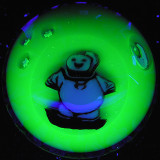 Daisuke Saito and Katsuaki Takahashi (Azul Glass): Radioactive Stay Puft Size: 1.79 Price: SOLD