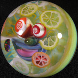 Mike totally NAILED it with this one, easily one of the coolest marbles ever made!