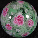Roses Among Ferns Size: 1.41 Price: SOLD