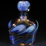 #7: Golden Waves of Blue  Size: 3.93  Price: $220