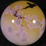 #91: Golden Realm of Cherry Blossom Size: 1.30 Price: $370