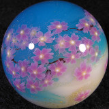 Cherry Blossom Heaven Size: 1.39 Price: SOLD