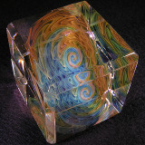 Ultimate Colorcube Size: 1.82 Price: SOLD