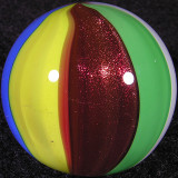 Ruby Beachball Size: 0.89 Price: SOLD