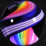 Rainbow Blues  Size: 1.81  Price: SOLD