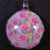 #117: Cherry Blossoms and Gold/Silver Koi Size: 1.51 Price: $190