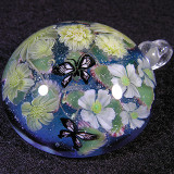 #118: Kerria Japonica and Butterflies Size: 1.47 Price: $190