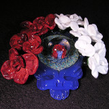 Steal Your Roses Size: 3.14 x 3.26 Price: SOLD