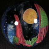 Steve Hitt: Redwood Moon Size: 2.12 Price: SOLD