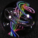Rainbowa Constrictor Size: 1.63 Price: SOLD