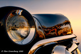 1951 Ford with Palm Reflections