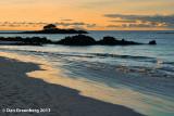 Sunset at Las Bachas Beach