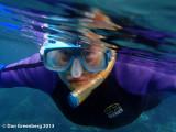 Monique Snorkeling