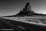 Agathla Peak - Early Morning