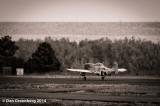 P51 D Landing