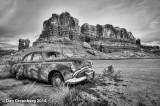1949 Buick, Bluff, Utah, 2014