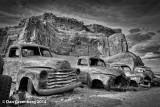 Chevy and GMC Pickups, Lupton, Arizona, 2014