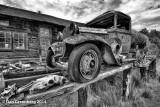 1930 Ford Model  AA Tanker Truck, Guffey, Colorado, 2011