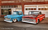 1955 and 1963 Chevy Pickups