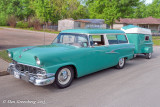 1956 Ford Ranch Wagon and Trailer