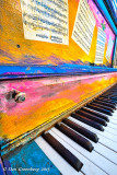 Art Piano Abstract