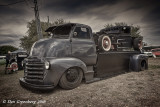 1947 Chevy COE Truck with 1932(?) Ford Pickup