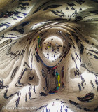 Looking Up Under Cloud Gate (the Bean)