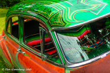Green Filigree Over Rust